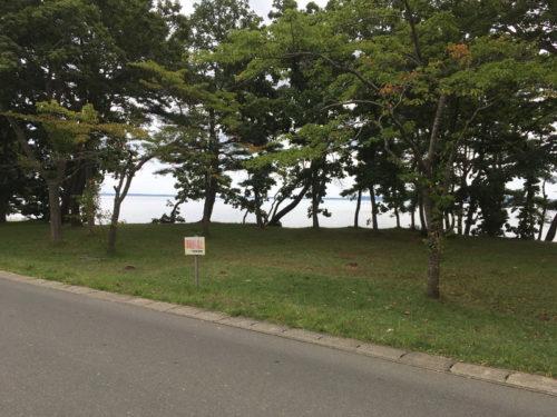 わかさぎ公園浜台キャンプ場