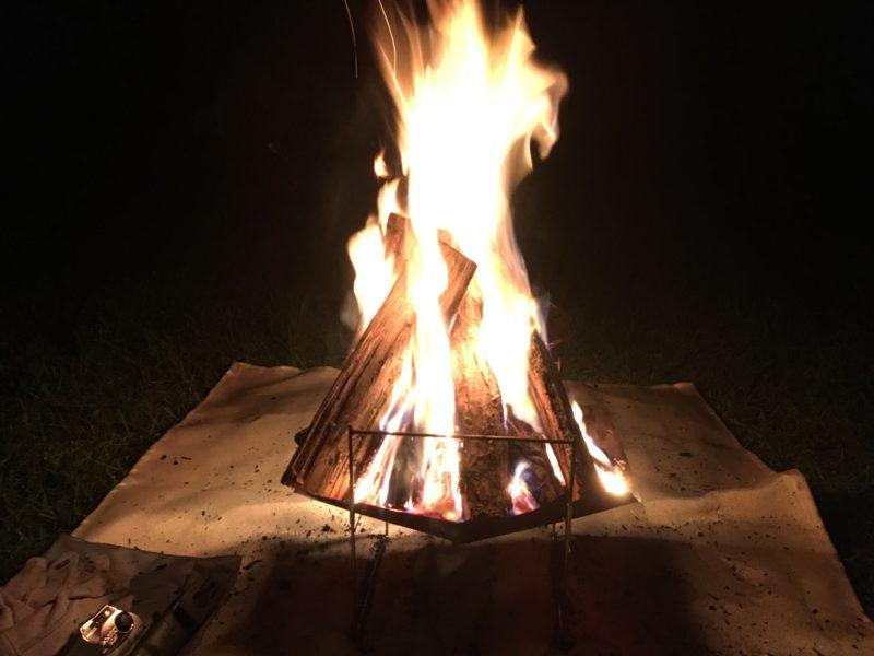 ピコグリル 焚き火